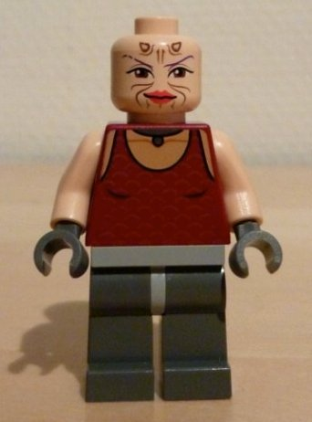 [Sugi - Lego Star Wars Minifigure] (Female Bounty Hunter Costume Star Wars)