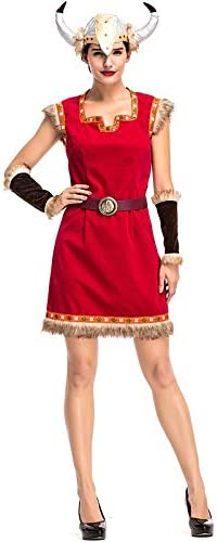 Halloween Wonder Woman Cosplay Costumes Viking Female Warrior ...
