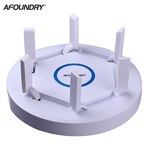 AFOUNDRY EW1900 Gigabit Dual Band Wireless WiFi Router,2600Mbps Computer Router Long Range up to 200m, High Power Business Enterprise Router by AFOUNDRY