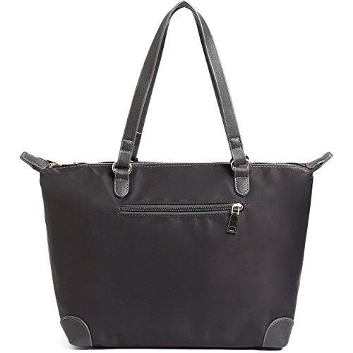 BEKILOLE Medium Nylon Tote Bag | Travel Carrying Bag | Fits