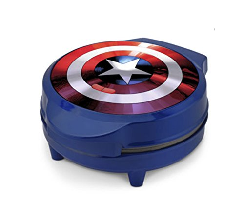 Marvel Captain America Shield Electric Waffle Maker