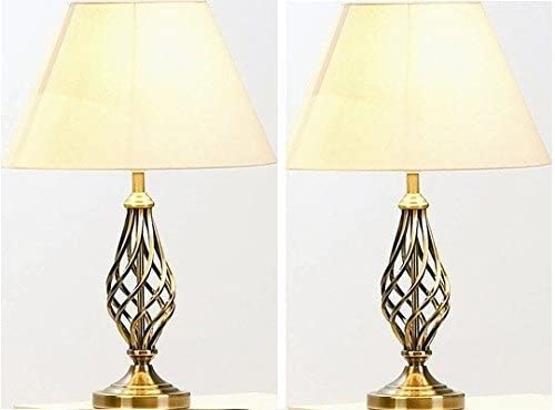 Barley Twist Table and Floor Lamp Set