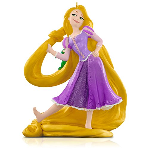 Hallmark Keepsake Ornament: Disney Tangled Rapunzel and Pascal
