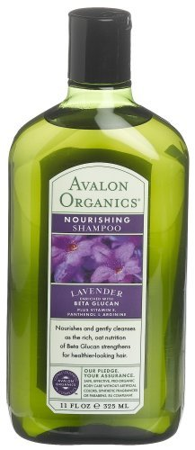 Avalon Organics Lavender Nourishing Shampoo, 11-Ounce Bottle (Pack of 3)