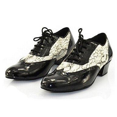 Zapatos Cuadrado black Claqué Personalizables Negro Tacón de Moderno Latino Baile de Jazz Zapatillas baile qZHxCfrwq