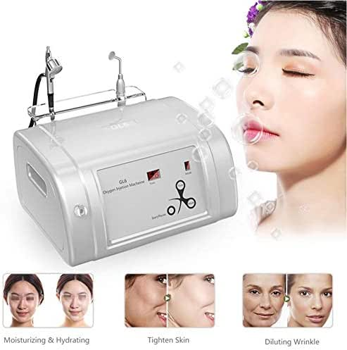 Water Oxygen Hydrate Jet Injection Sprayer Water Injection Hydrate Beauty Machine Facial Moisturizing Cleaning Pores Clear Beauty Wrinkle Remove Sauna Spa Rejuvenation Machine