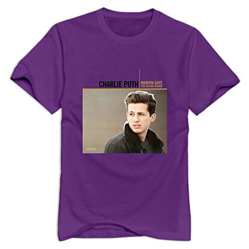 Purple VAVD Masculine Marvin Gaye Short-Sleeve T-Shirt Size L