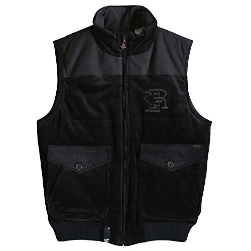 LRG Woolly Mammoth Puffy Vest Black by LRG