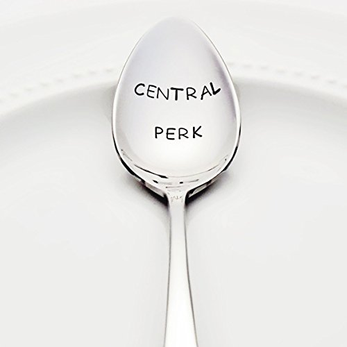 Friends: Central Perk - Stamped Spoon, Stamped Silverware - Unique Gifts for Her - Coffee Gifts