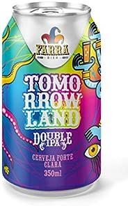 Cerveja Farra Bier, Tomorrowland, Double Ipa, Lata, 350ml 1un