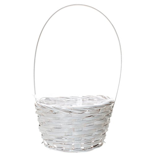 White Decorative Basket