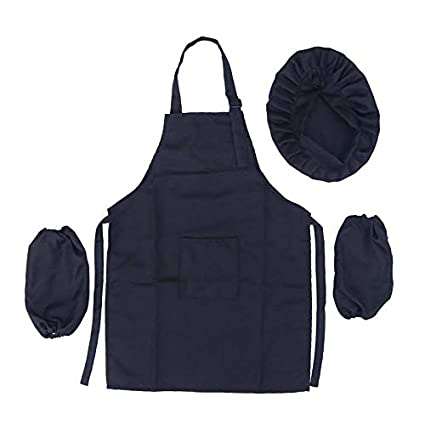 Amazon.com: Aprons for Kids 3Pcs Chef Set Complete Kids ...