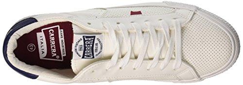 EU Sneaker Uomo Carrera navy Platinum Lth White 43 Bianco q8xxAEwR