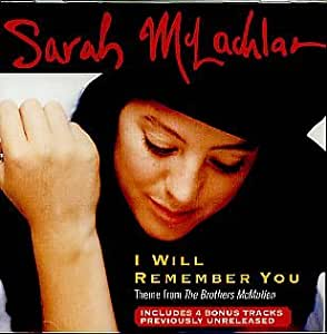 sarah mclachlan i will remember you mp3 download