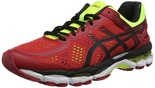 Homme De Pepper flash Rouge Asics black red Yellow Chaussures Kayano Running 22 gWaXx6
