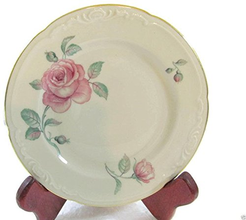 Royal Bayreuth Rose Roses Pattern Bread & Butter Plates 6