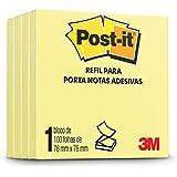 Bloco de Notas Adesivas Post-it Refil Amarelo 76 mm x 76 mm - 100 folhas (+ Por menos)