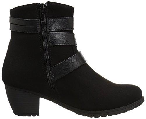 Easy Street - Coby Damen Black Super Suede/Black