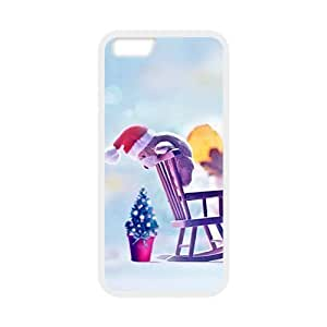 Andre-case Christmas cute bear decoration cell phone case cover for texeInLKbFH Iphone 6