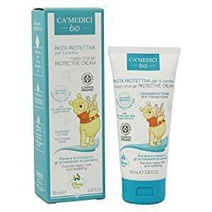 CA MEDICI BIO - Disney Baby Crema Protectora para Cambiar Pañales para Bebés - con Extractos