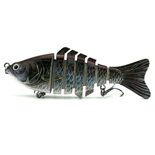 Cheap Apusale Fishing Lure Hard Bait Bass For 7 Segment Trout Swimbait Life-Like Swimming As Life Fish£¨JM023-A£