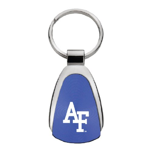 Air Force Falcons - Teardrop Keychain - Blue - AF - Air Force Falcons Keychain