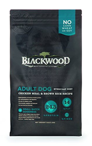 Blackwood Pet Food 22288 Adult Dog, Everday Diet, Chicken Meal & Brown Rice Recipe, 5Lb. For Sale