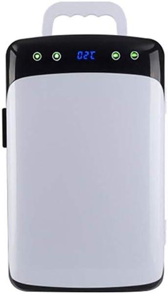 Color : White r/éfrig/érateur de Voiture Cadeau cosm/étiques pour Voiture Maison Lyy 8866 Frigo R/éFrig/éRateur Congelateur Glaciere 12L r/éfrig/érateur de Voiture Mini 45-55W