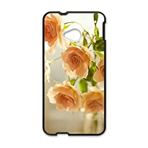 Flowers Phone Case for HTC One M7 case