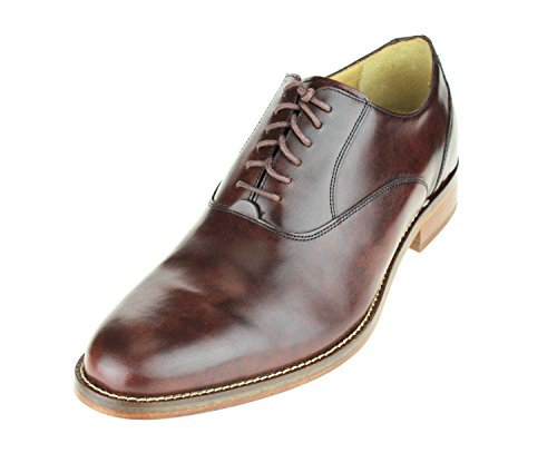 Cole Haan Heren Madison Vlakte Os Ii Lace Up Jurk Oxfords Donkerbruin