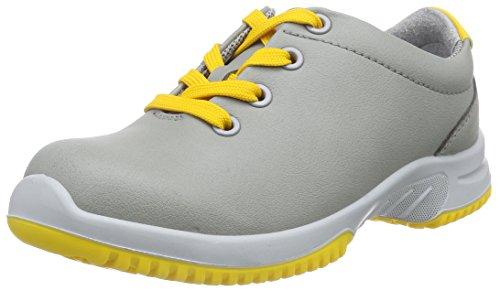 Chaussures Adulte Jaune Gris Sécurité de Mixte Stahlkappe Küchengeeignet uni6 Halbschuh Abeba S2 Sicherheitsschuhe 1784 0HPFPq