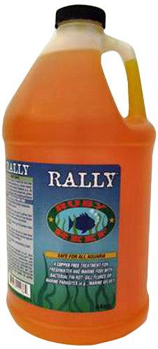 Ruby Reef ARR11138 Rally Aquarium Water Treatment, 64-Ounce