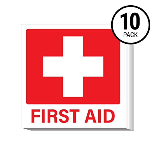 - First Aid Stickers (Pack of 10)