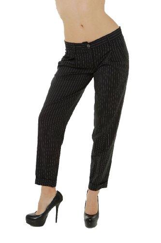 Dolce & Gabbana Womens Pants Trousers, 42, Black