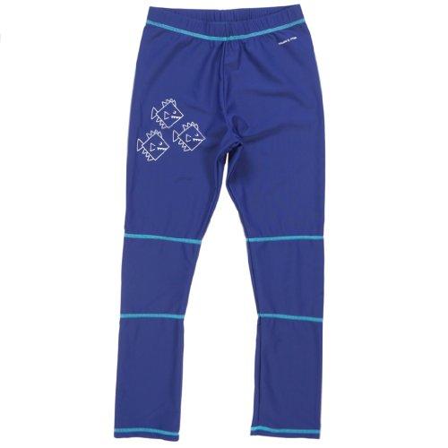 POLARN O. PYRET RASHGUARD UV SURFER PANTS (6-12 YRS) - 8-10 years/Twilight Blue
