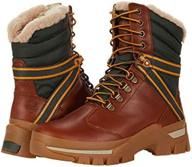 Timberland Jenness Falls Waterproof Insulated Leather and Fabric Boot