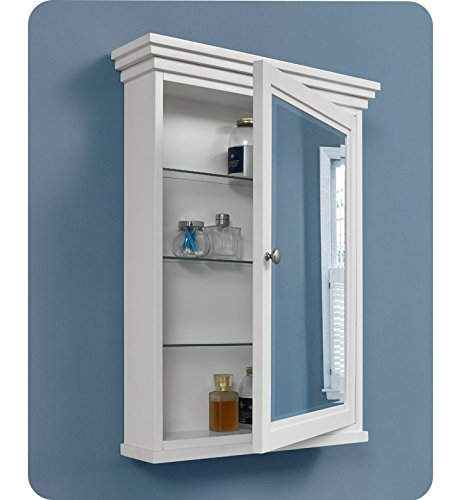 Fairmont Designs 1512-MC24 Shaker Americana 24'' Medicine Cabinet - Polar White by Fairmont Designs