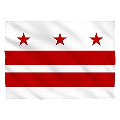 Washington D.C. Flag -- Pillow Case