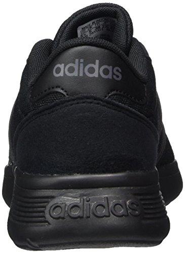 Erwachsene Unisex Lite Racer 000 Sneaker Negbas Gricin adidas Schwarz w41qg56a4d