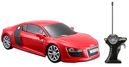 maisto-r-c-124-scale-audi-r8-v10-radio-control-vehicle-colors-may-vary