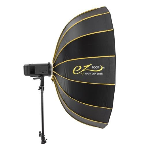 Glow EZ Lock Collapsible Silver Beauty Dish (42'') by Glow (Image #2)