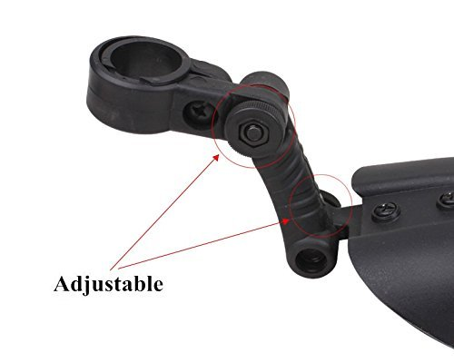 Adjustable Road Mountain Bike Bicycle Cycling Tire Front//Rear Mud Guards Mudguard Fenders Set