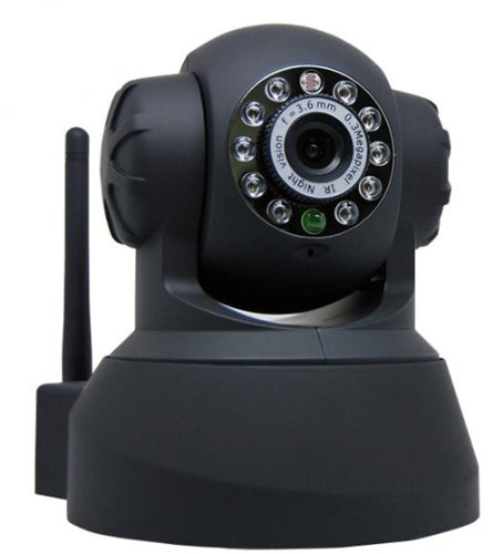 (Wireless / Wired Pan & Tilt IP/Network Camera with IR Day Night Vision Networ...)