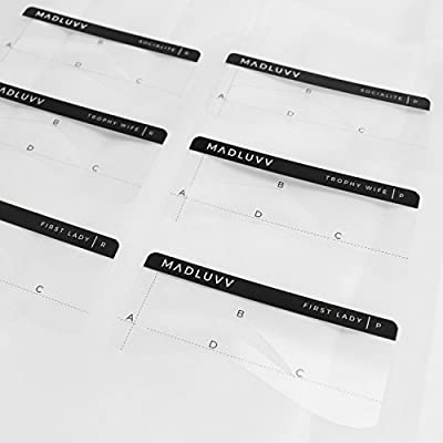 Jkirsten 24 Styles Reusable Eyebrow Stencils Brow Shaping Template