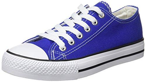 BEPPI Canvas, Zapatillas de Deporte para Mujer Azul (Blue)
