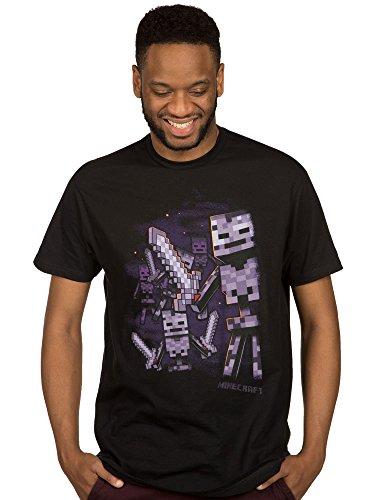 JINX Minecraft Wither Army Mens Premium Tee Shirt