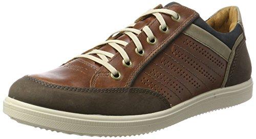 Cognac Mens Shoes Cappuccino M Cappuccino Low Jomos Cognac 0Px6wOOq
