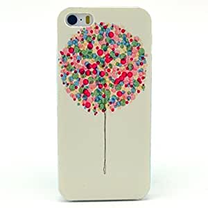 ?Fashion Style Colorful Painted Big Balloon Clear Bumper Hard Case Back Cover Protector Skin For Iphone 5 5s ( Big Balloon)