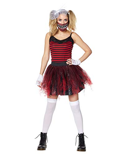 (Spirit Halloween Adult Giggles The Clown Costume - Crypt)