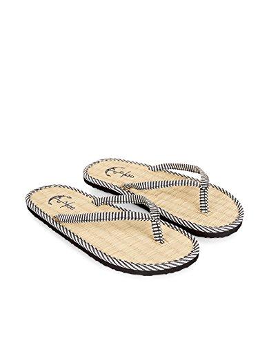Accessorize-Nautical-Stripe-Seagrass-Flip-Flops-womens